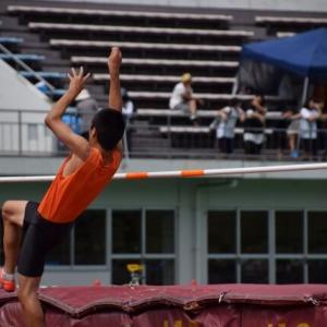 男子走り高跳び 2人金メダル
