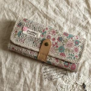 YUWA花柄de長財布