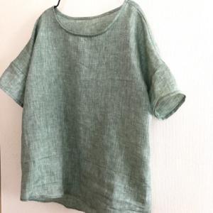 mion ワイド布帛Tシャツ