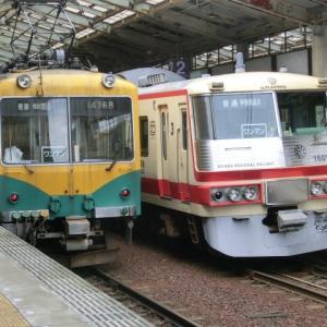 富山探検記。地鉄に初乗車。