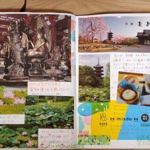 【おでかけノート】東寺とおやつ