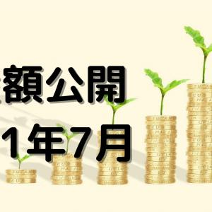 【2021年7月版】資産構成・資産額を公開-運用額500万円突破&30万円行方不明-
