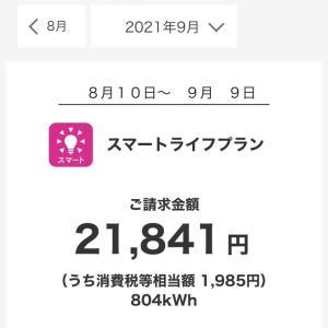 見慣れてしまった2万円越え(T . T)