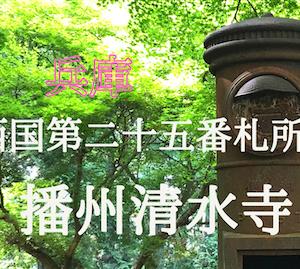 【西国三十三所巡り】  兵庫県の播州清水寺、新緑の中の引退ポストはまるでジブリの世界でした