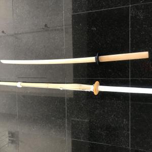 60の手習い、剣道はじめます。マイ竹刀ゲット