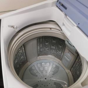 洗濯機の修理代を聞いておけばよかった。