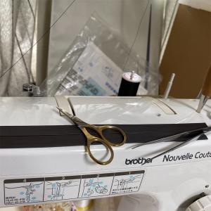 縫って縫ってー(・Д・)