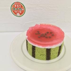 【ドンレミー】新商品 まるでスイカなケーキは、ぷるんとした食感が楽しいです!