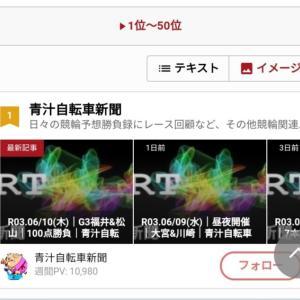 R03.06/11(金)│福井→武雄→松山│12本160点勝負│青汁自転車新聞 競輪予想│