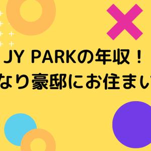 JY PARK(パクジニョン)の年収はどれくらい?