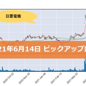 【日置電機】ピックアップ銘柄(2021年6月14日)