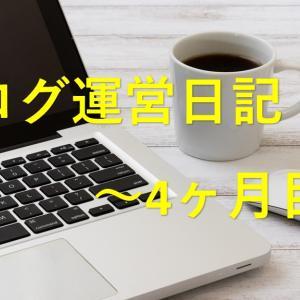 ブログ初心者のルクセリタス運営方法 アップデートや収益について ~4ヶ月目~