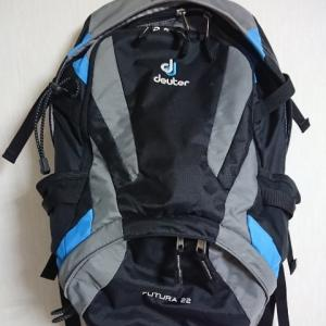 たおやめ登山黎明期:初めて購入した登山用ザック DeuterFUTURA ドイターフューチュラ22 SL