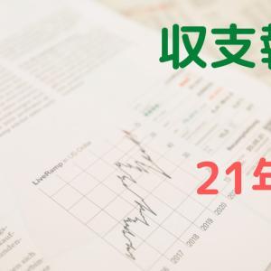 【家計】収支報告【2021年8月】