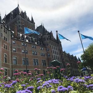 ケベックシティ旧市街(Vieux Québec)アッパータウン(Haute-Ville)と戦場公園(Plaines d'Abraham)お散歩してきた!!1