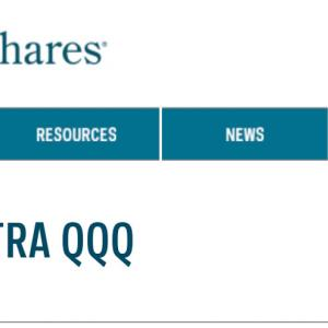 [QLD] NASDAQ100株式指数2倍のハイレバレッジETF、3倍のTQQQよりはマイルドにしてみました