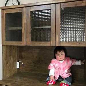 【防災】食器棚の耐震つっぱり棒の付け方が間違っていました!&ワクチン打ちました!