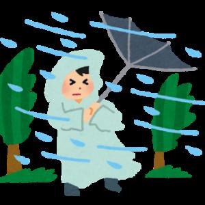 【台風速報】台風14号「チャンスー」が福津市付近に上陸 福岡県への上陸は初