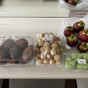 Jakarta All Fresh で日本では珍しい果物を購入
