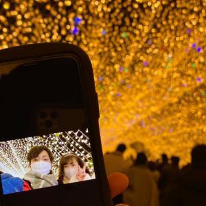 クリスマスのデートにオススメ!色鮮やかに輝くなばなの里でイルミネーション