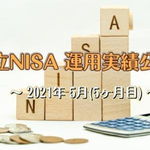 積立NISAの運用結果を公開します 2021年5月(開始5ヶ月)
