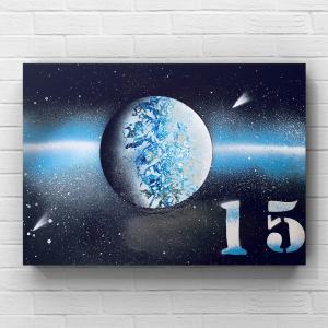 【宇宙spray art〜感じるままに日めくりチャレンジ〜】15