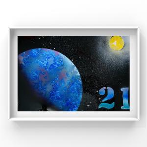 【宇宙spray art〜感じるままに日めくりチャレンジ〜】21