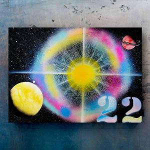 【宇宙spray art〜感じるままに日めくりチャレンジ〜】22