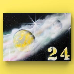 【宇宙spray art〜感じるままに日めくりチャレンジ〜】24