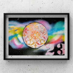 【宇宙spray art〜感じるままに日めくりチャレンジ〜】23