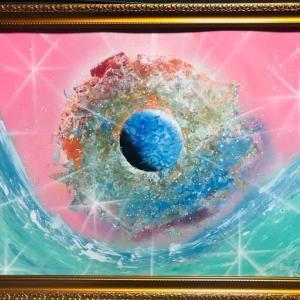 【NO.24 魂のspray art〜貴方の宇宙描きます〜イニシャルN・Mさん】