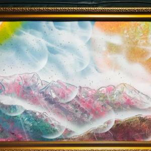 【NO.23 魂のspray art〜貴方の宇宙描きます〜イニシャルM・Iさん】