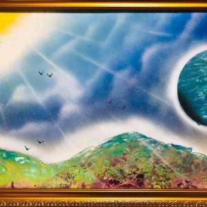 【NO.28 魂のspray art〜貴方の宇宙描きます〜イニシャルY・Tさん】