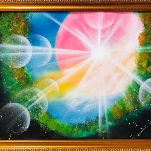 【NO.40 魂のspray art〜貴方の宇宙描きます〜イニシャルT・Kさん】