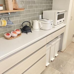 立てて使いやすく、食器収納。