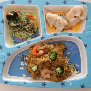 4歳 カレーご飯
