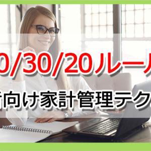 【50/30/20ルール】海外から学ぶお金が貯まる初心者向け家計管理テクニック