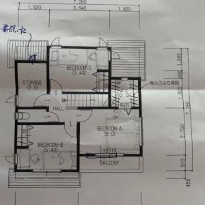 【新築戸建て】寝室 ベッドの大きさ