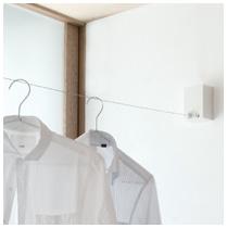 ホシ姫サマ VS 室内物干しワイヤータイプ