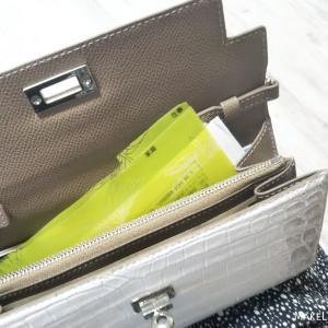 お財布の中身*自作の仕切りで、使いやすく見える化収納