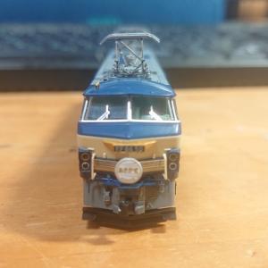 TOMIX 7141 JR EF66 0形電気機関車(後期型)のレビュー