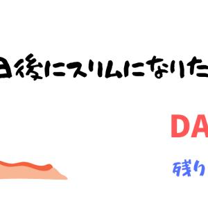 【100日後にスリムになりたい女子】ダイエット5日目