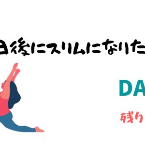 【100日後にスリムになりたい女子】ダイエット9日目