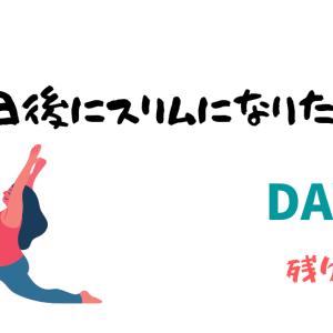 【100日後にスリムになりたい女子】ダイエット13日目