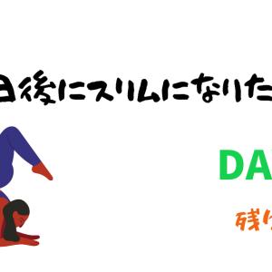 【100日後にスリムになりたい女子】ダイエット24日目