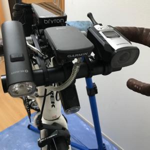 ハンドル周辺の機器を考えてみる:新しく購入したOLIGHT(オーライト) RN1500の設置をしてみた