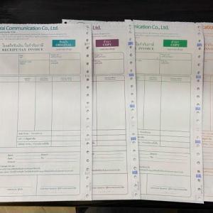 タイのTax Invoice(領収書)とW.H. Tax(源泉徴収)について