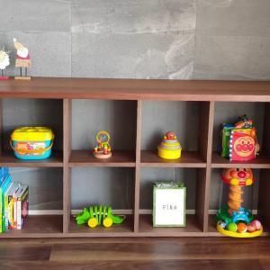 【育児住環境】おもちゃ収納は長期で多用途に使えるACTUSのMEZZO2 DESKを採用