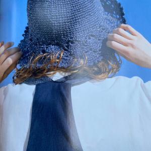 娘達の夏のお帽子⑥次女ちゃんのお帽子