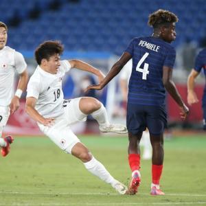 サッカー男子U24日本代表、昨日のフランス代表戦の採点は?